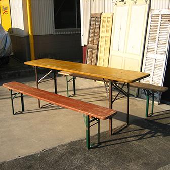 テーブルベンチセット:商品画像